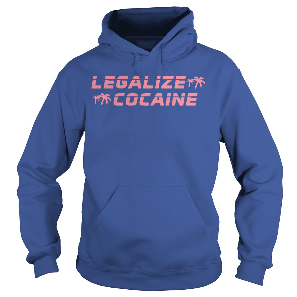Grand Valley State Police Event Legalize Cocaine Hoodie