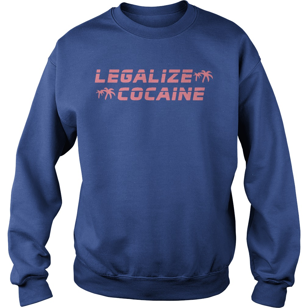 Grand Valley State Police Event Legalize Cocaine Sweater