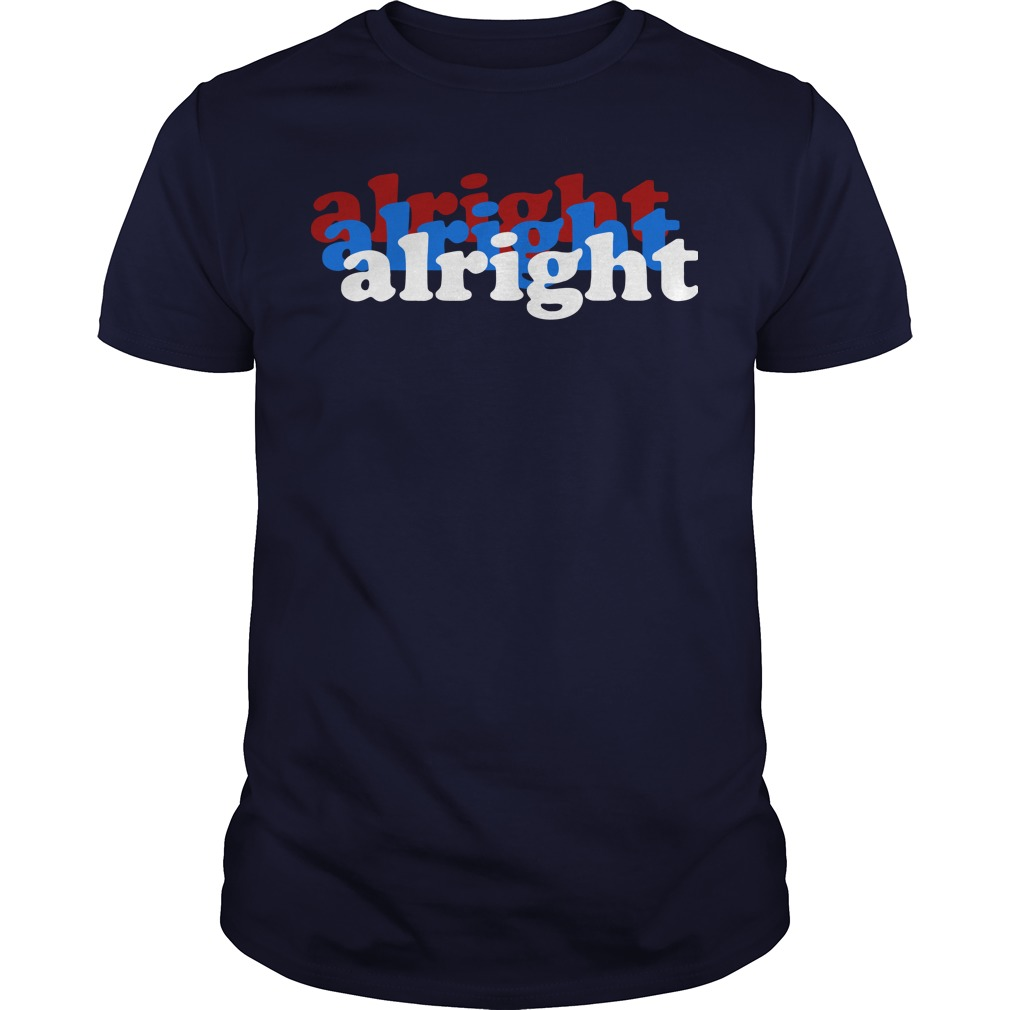 Matthew Mcconaughey Bts Concert Alright Alright Alright T Shirt