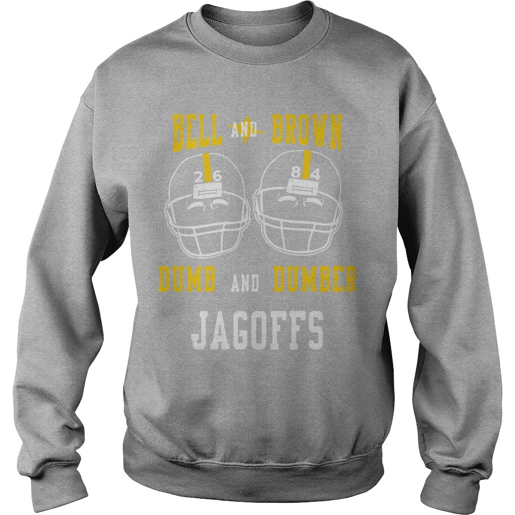 Bell And Brown Dumb And Dumber Jagoffs Sweater