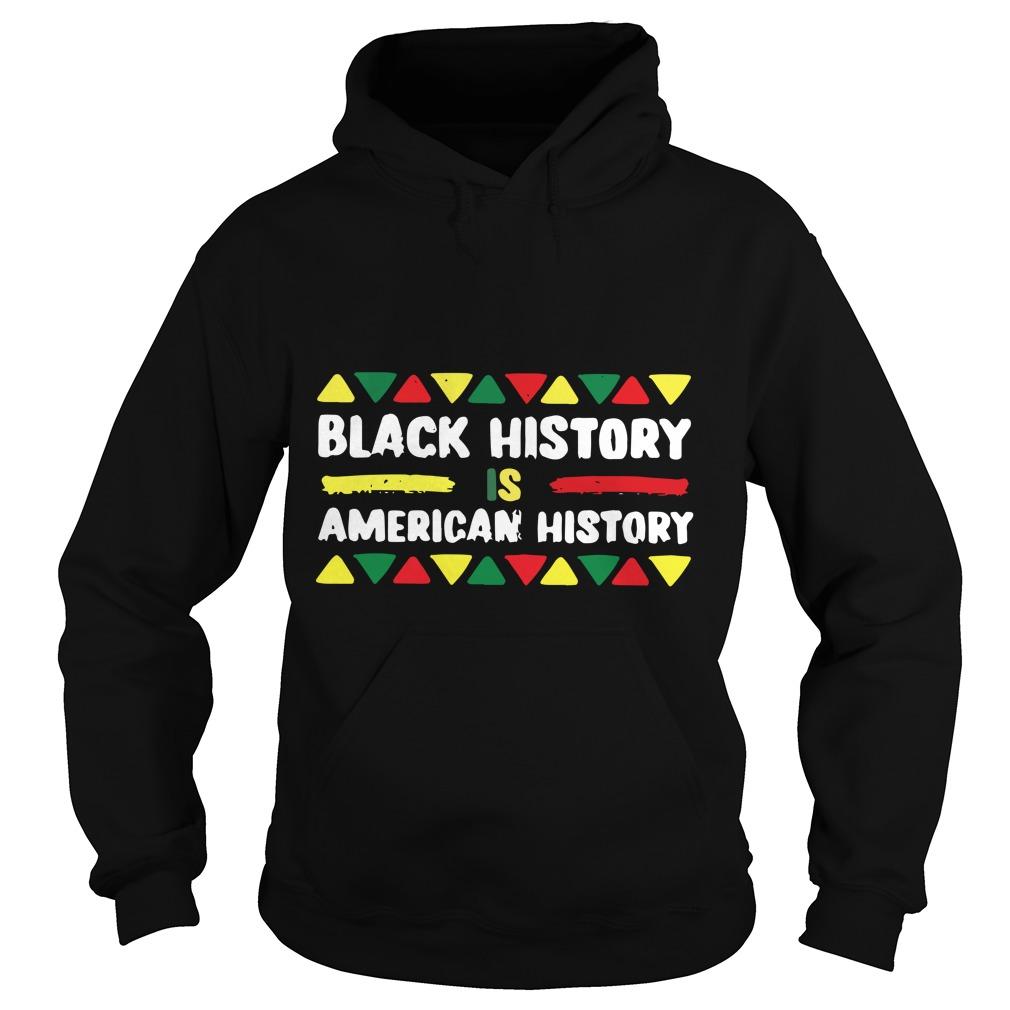 Black History Is American Month African Hoodie