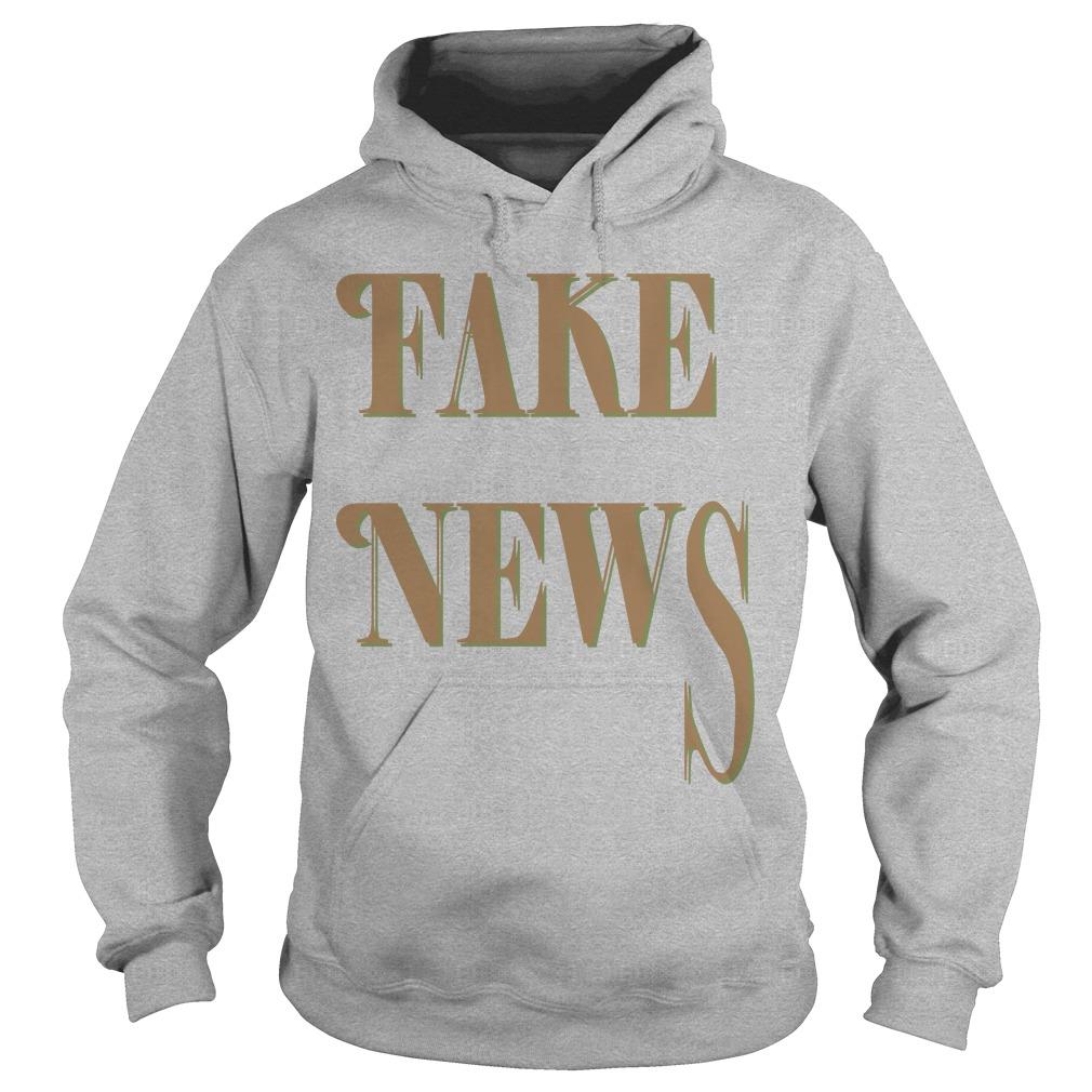Bloomingdale Fake News Hoddie