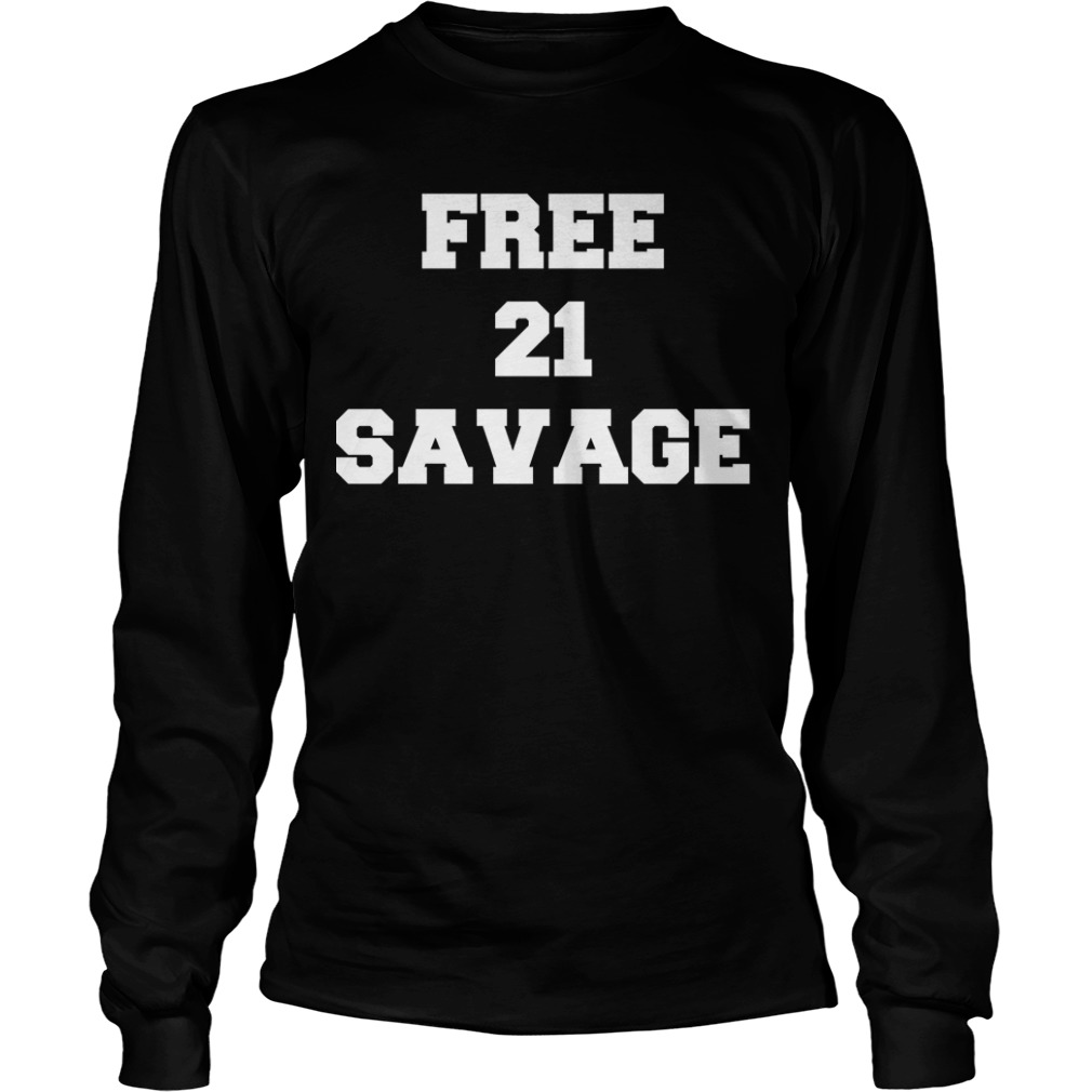 Gervonta Davis Free 21 Savage Longsleeve Tee