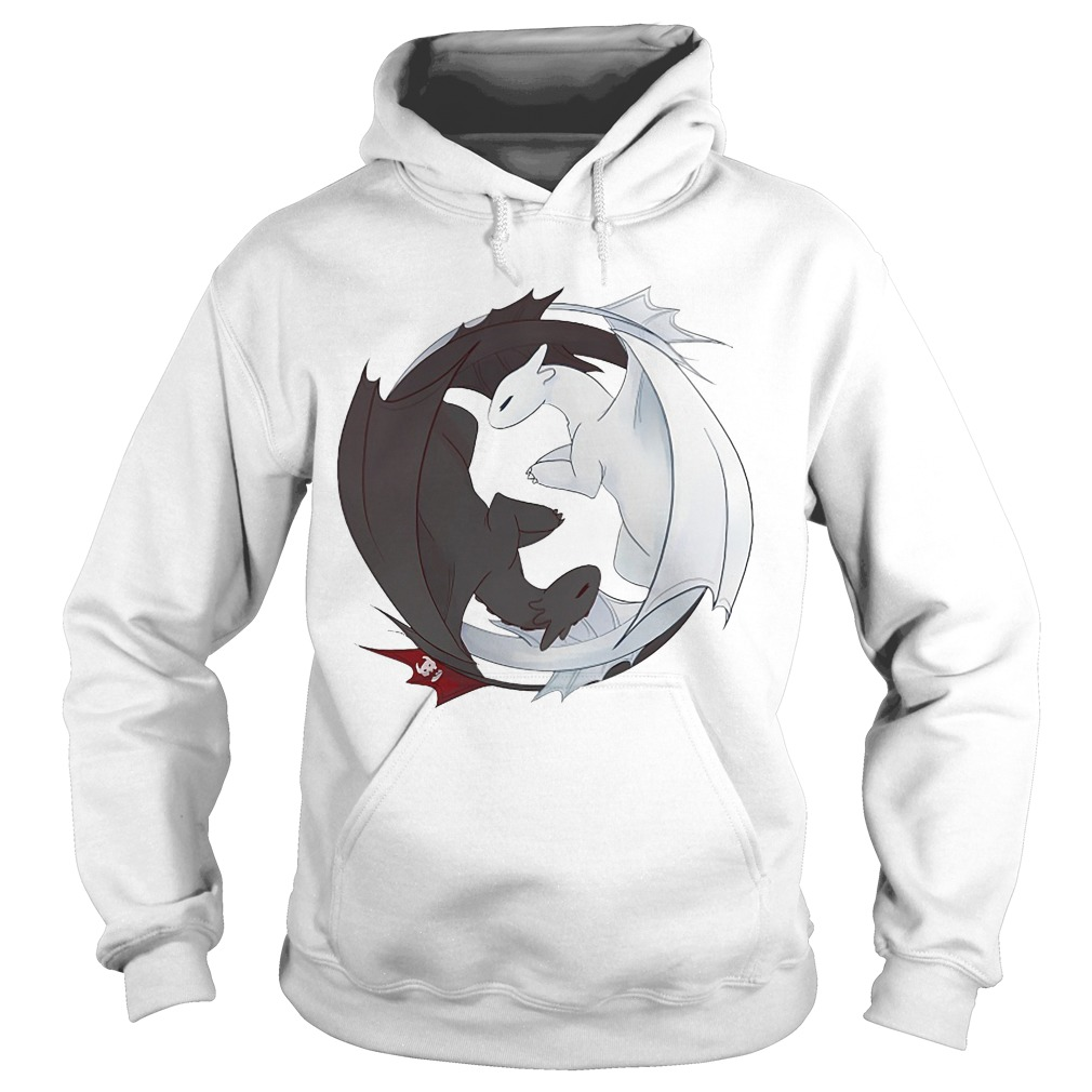 How To Train Your Dragon 3 Toothless And Light Fury Hoodie