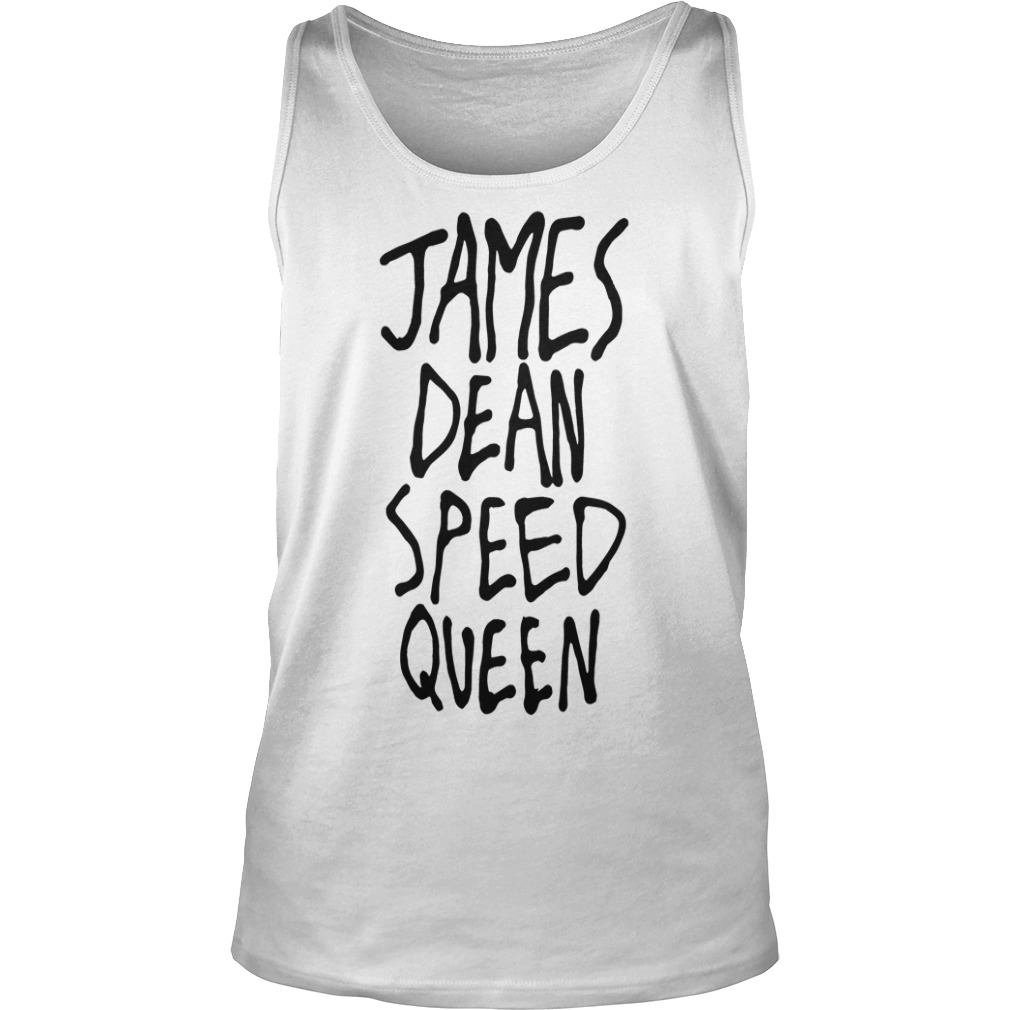 James Dean Speed Queen Tank Top