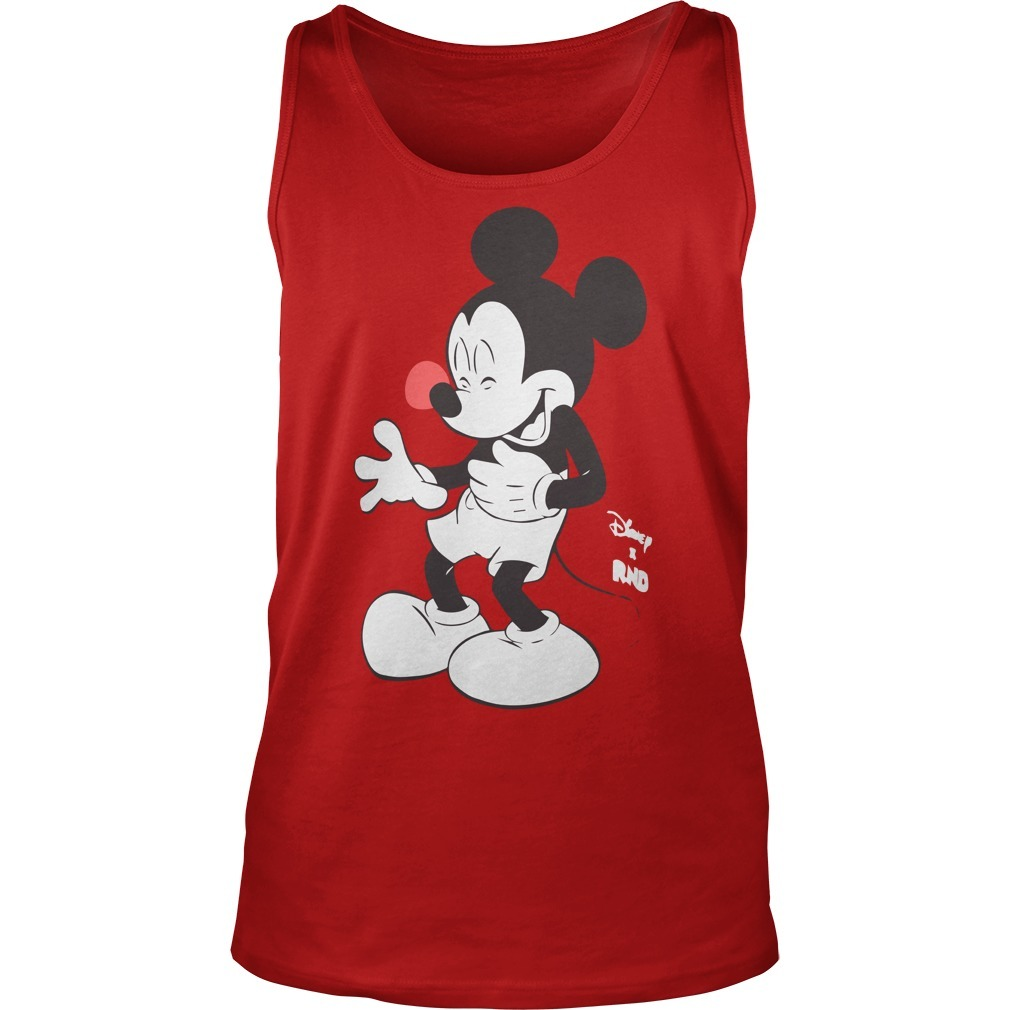 Red Nose Day Mickey Mouse Tank Top 2019