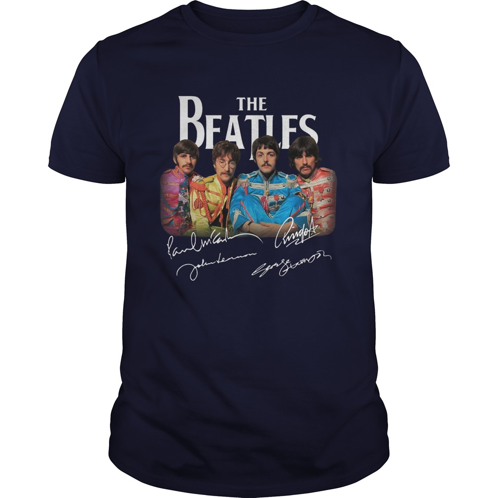Sgt. Pepper's Lonely Hearts Club Band The Beatles Signature Shirt