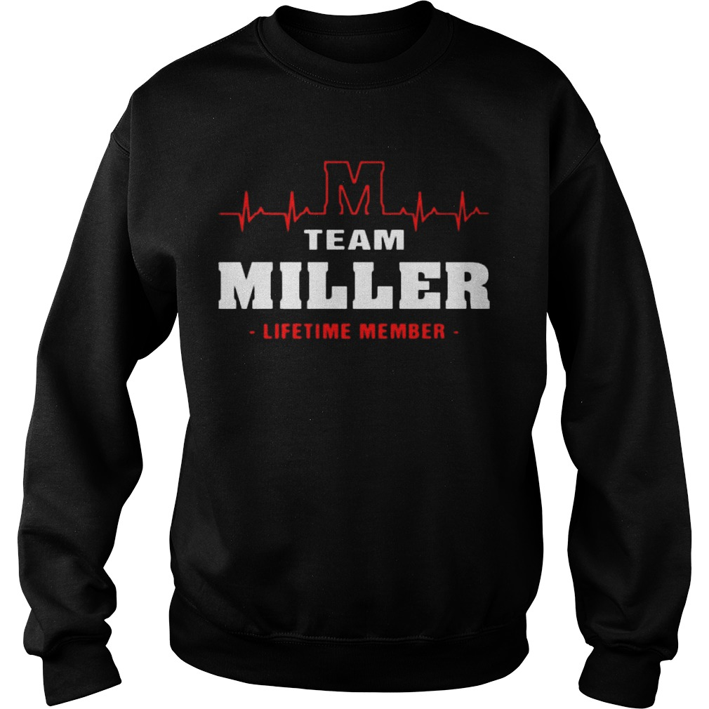 Team Miller Lifetime Member Sweater