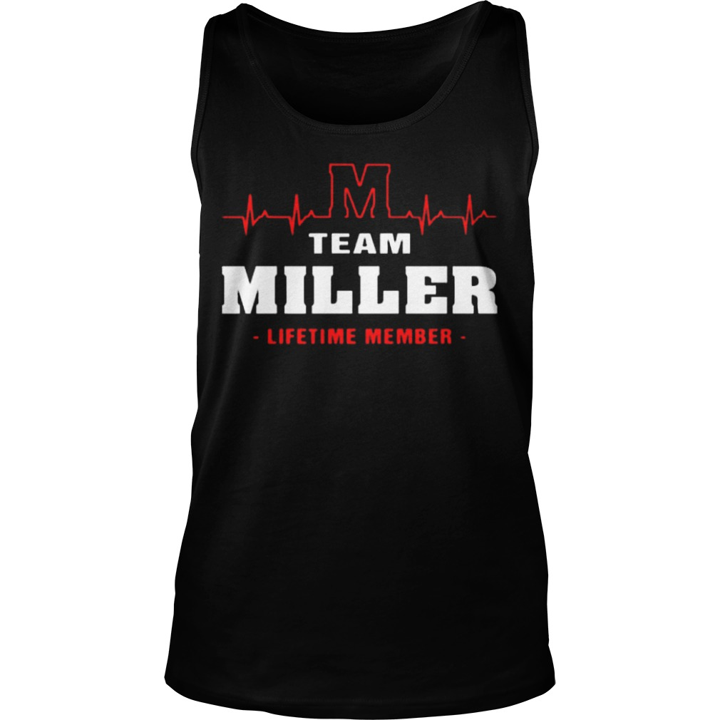 Team Miller Lifetime Member Tank Top