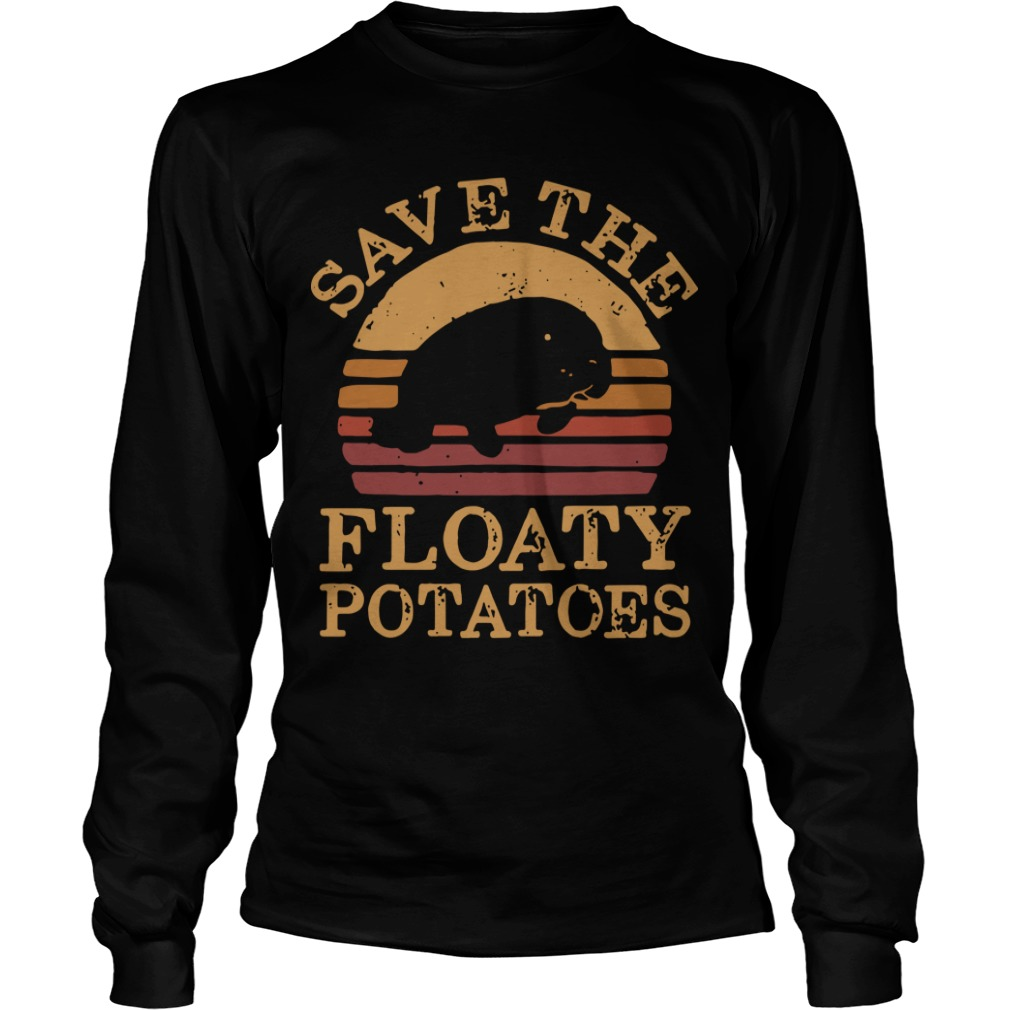 The Sunset Save The Floaty Potatoes Longsleeve Tee
