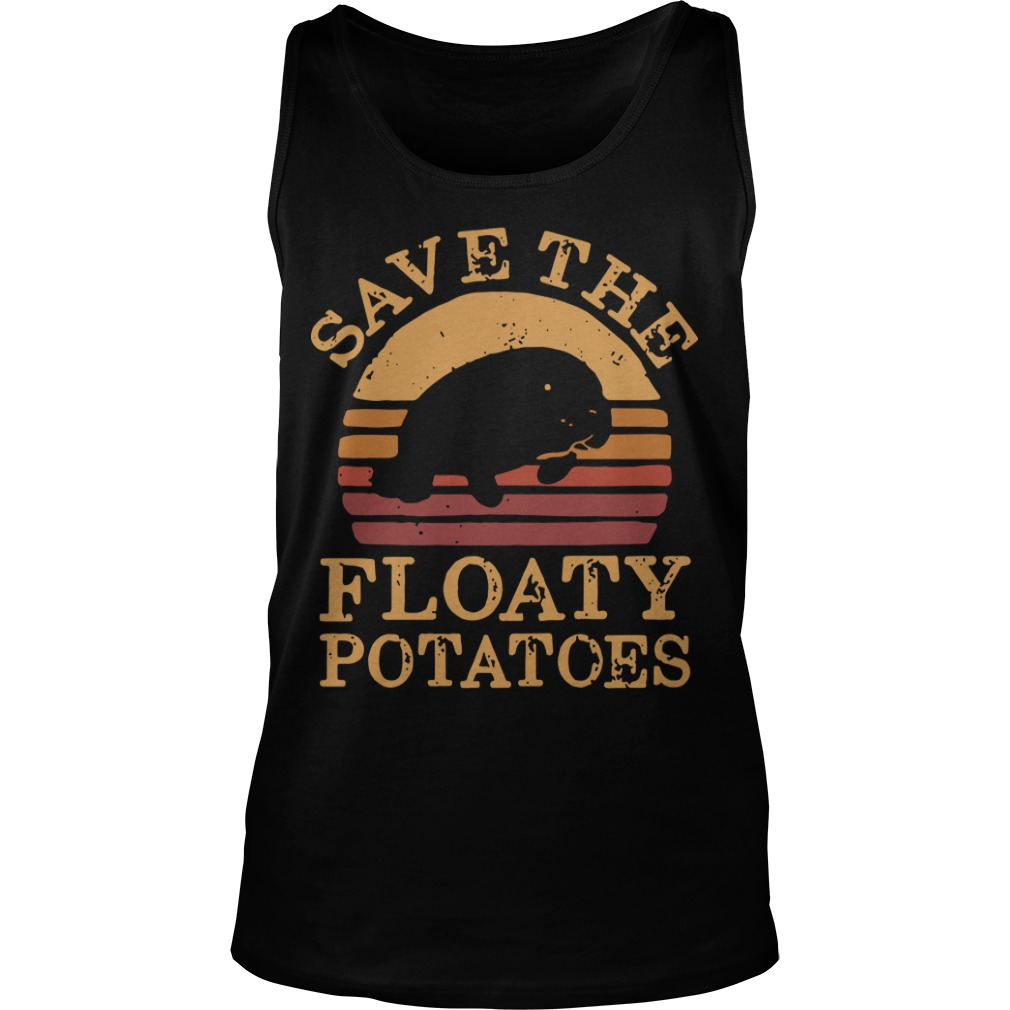 The Sunset Save The Floaty Potatoes Tank Top