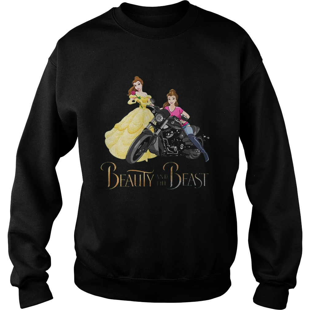 Bella Motorcycle Beauty And The Beast Sweater