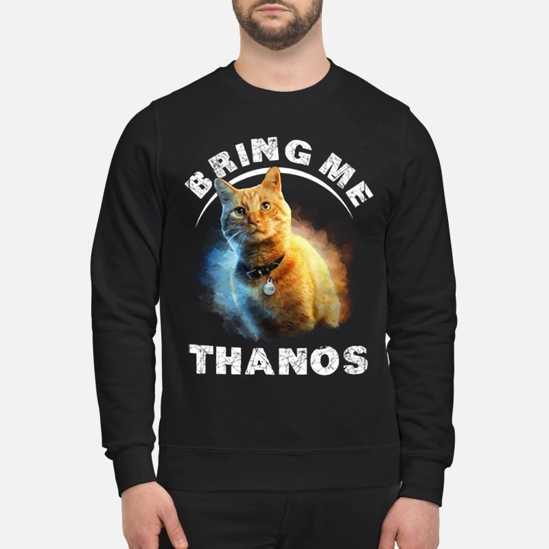 Captain Marvel Cat Goose Bring Me Thanos Shirt
