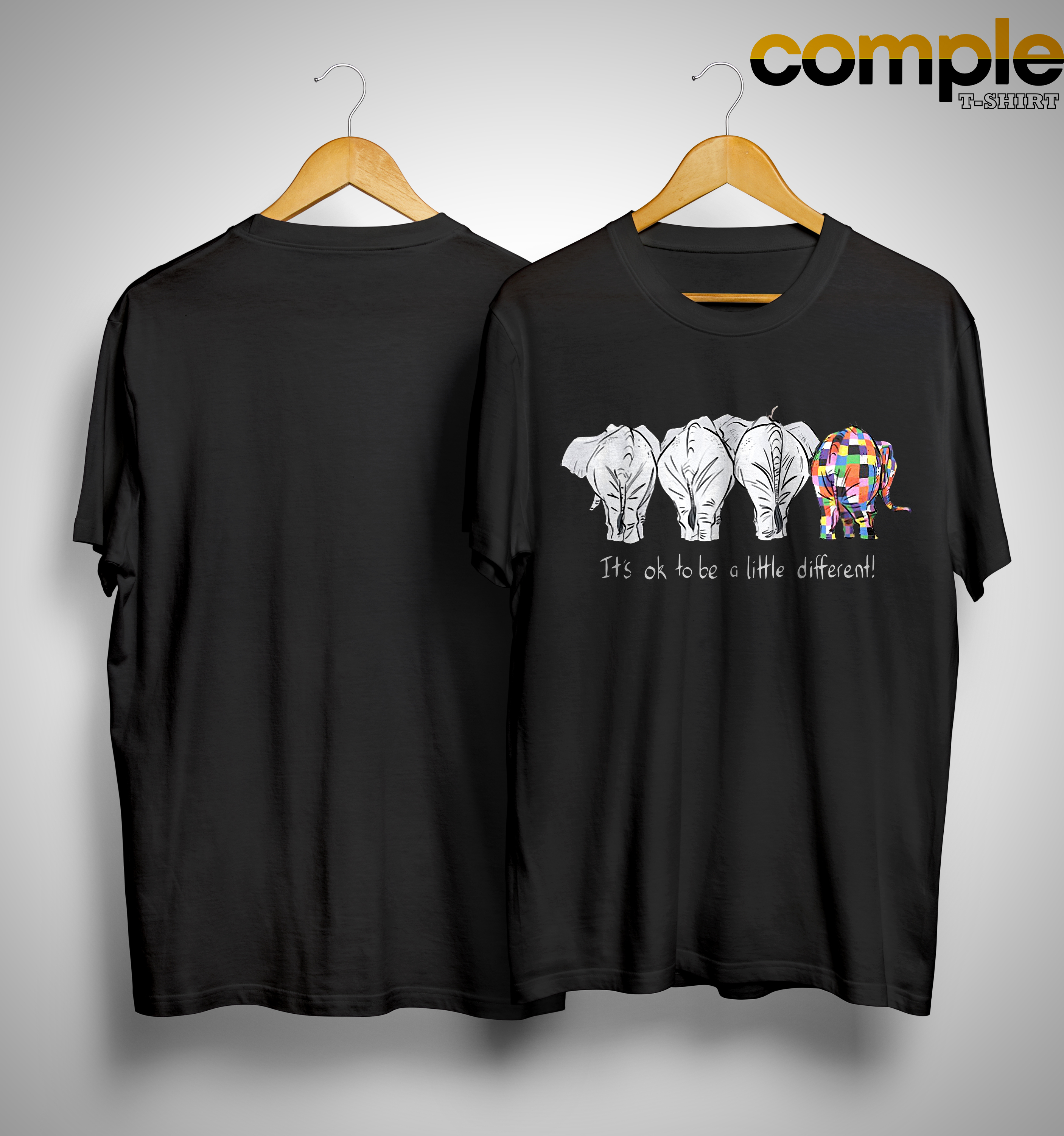 Elephant It's Ok To Be A Little Different Shirt