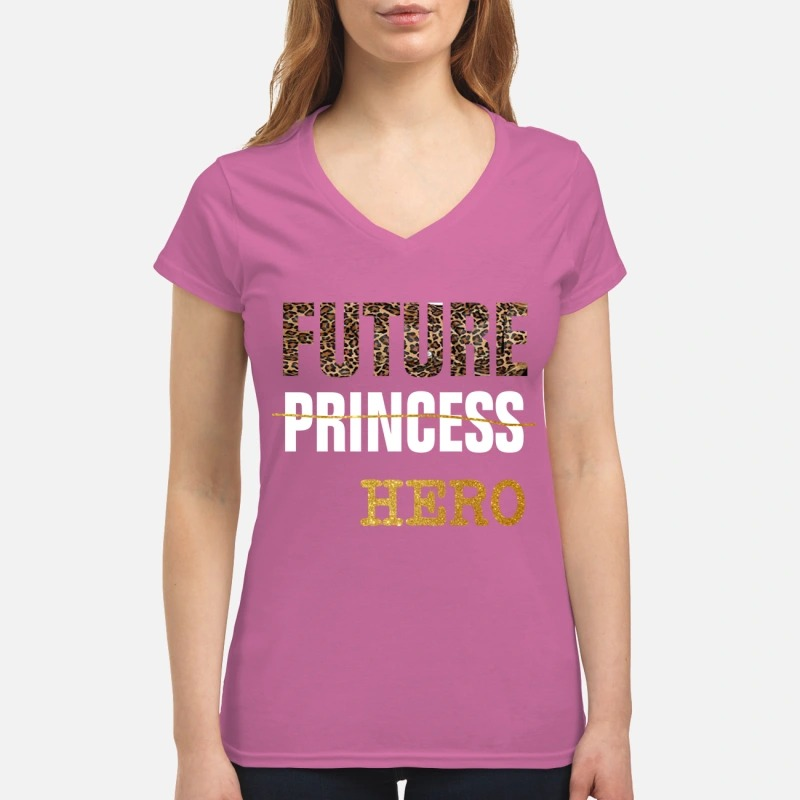 Future Princess Hero V Neck Shirt