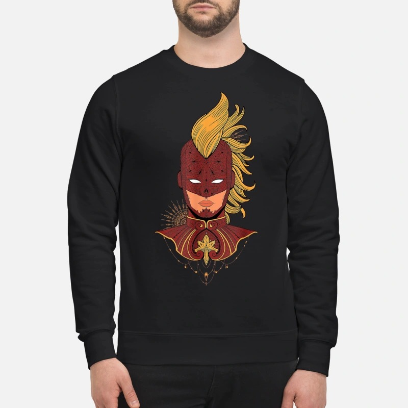 Marvel Captain Marvel Decorative Shirt