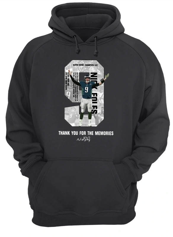 Nick Foles Thank You For The Memories Hoodie