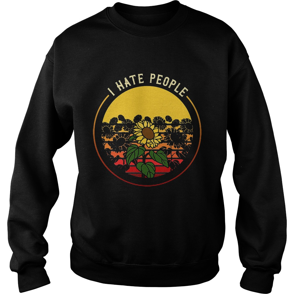 Sunflower I Hate People Sweater