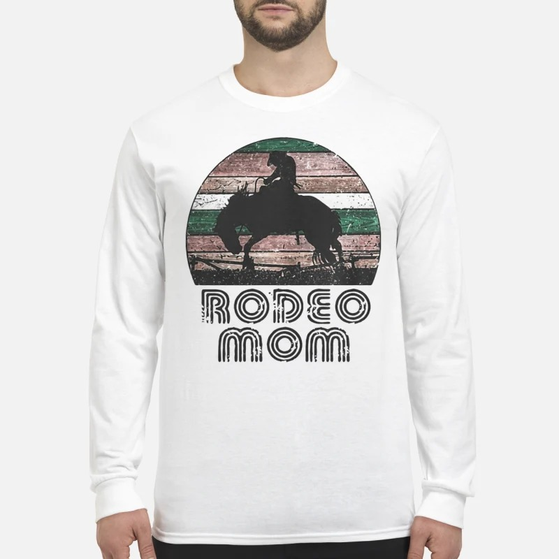 Sunset Horse Rodeo Mom Shirt