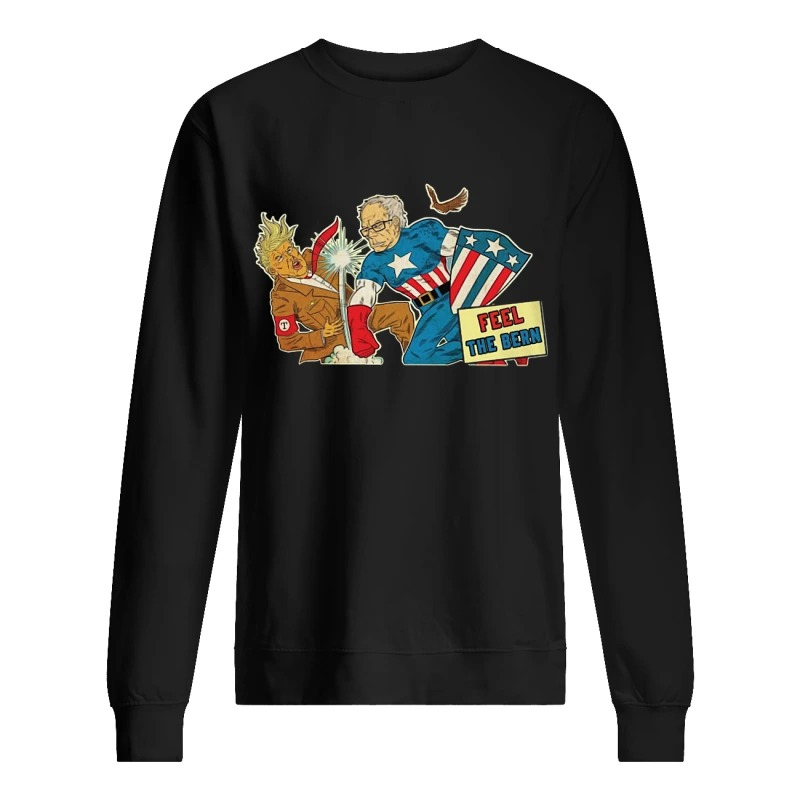 Trump Captain Bernie Feel The Bern Sweater