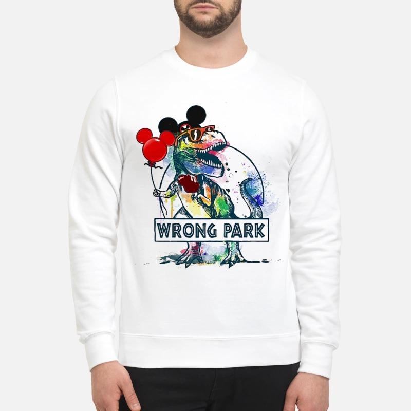 Wrong Park T Rex Sweater