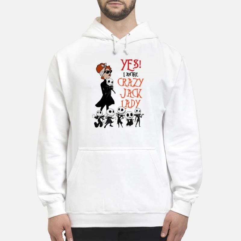 Yes I Am The Crazy Jack Lady Shirt