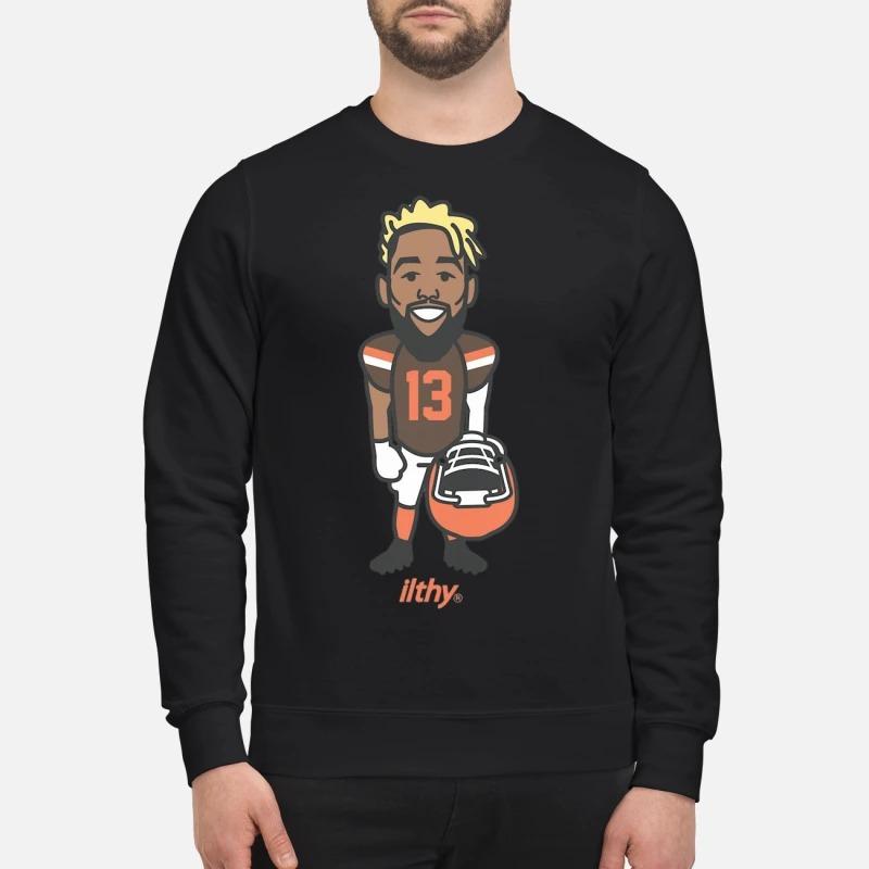 Odell Beckham Ob13 Cartoon Sweater