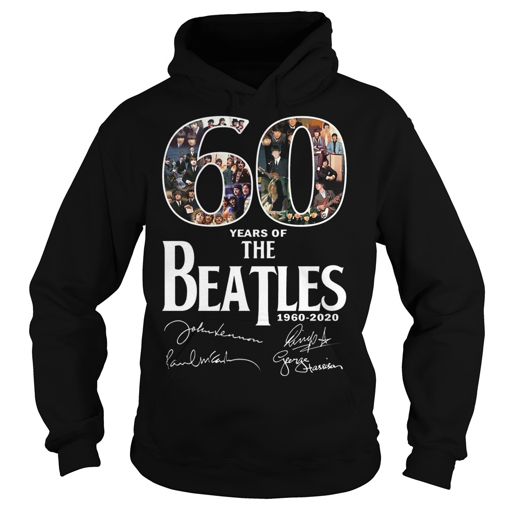 60 Years Of The Beatles 1960 2020 Signature Shirt