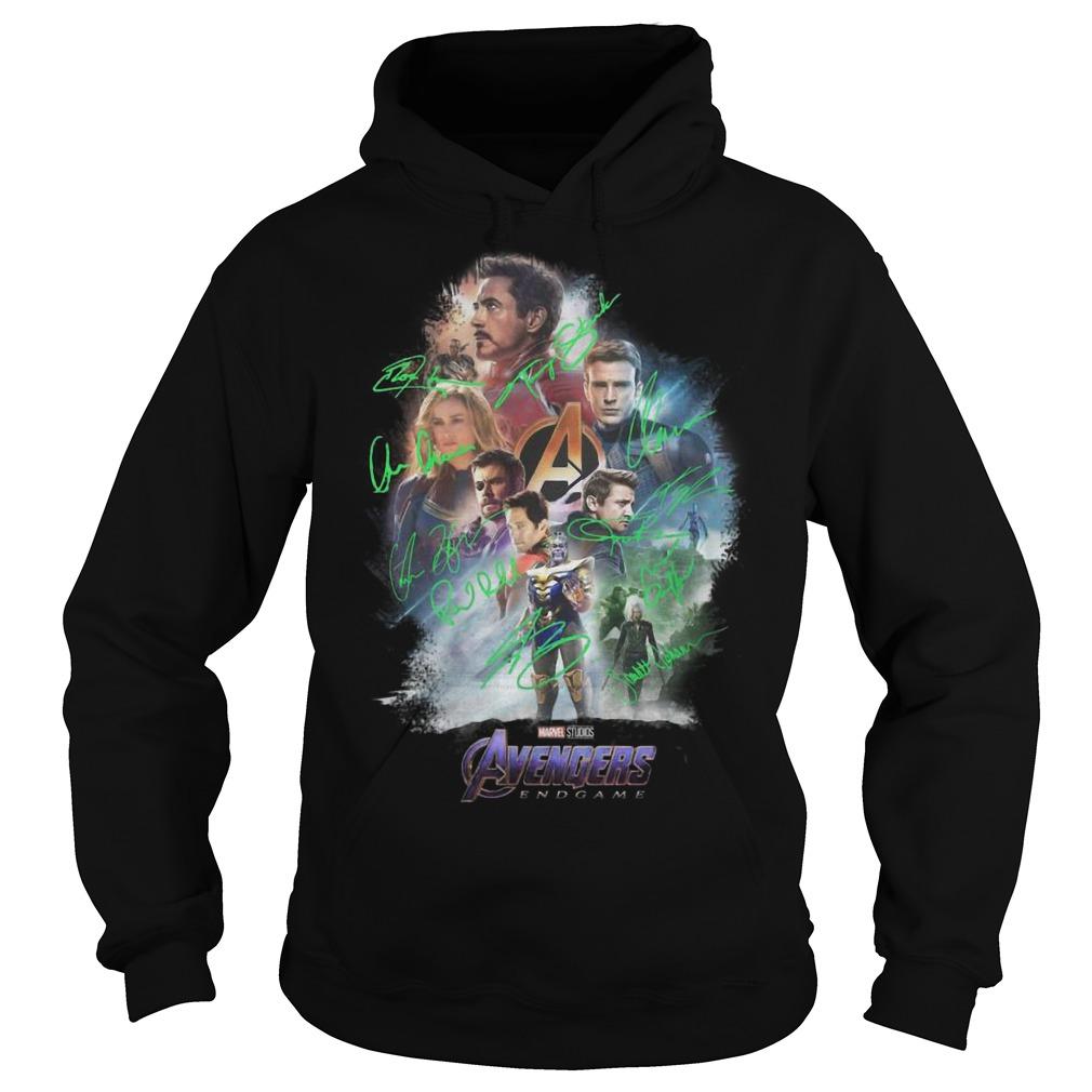 Avenger Endgame Poster Signature Shirt
