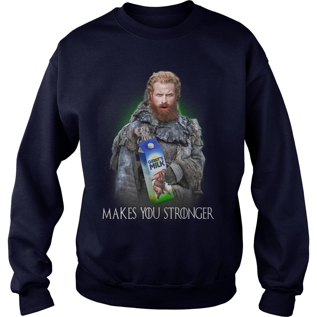 Game Of Thrones Tormund Giantsbane Giant's Milk Makes You Stronger Shirt
