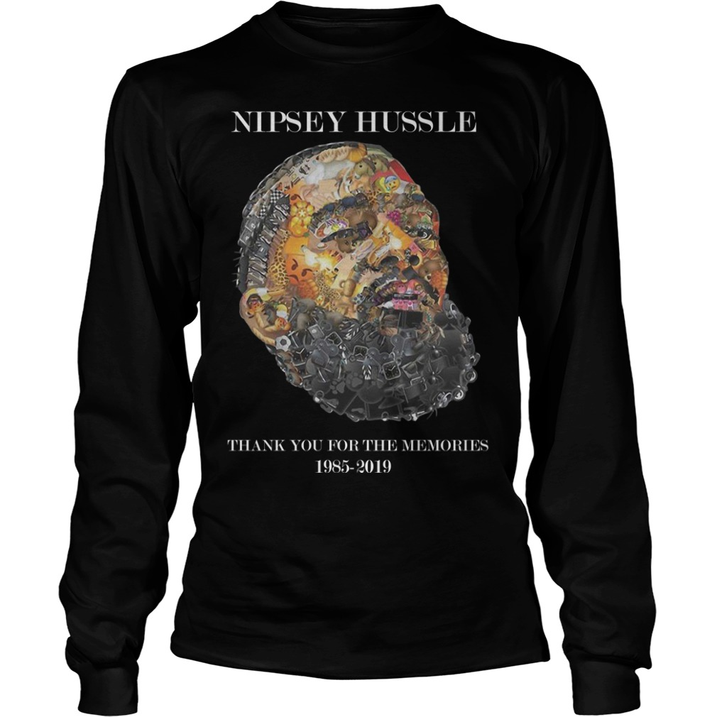 Nipsey Hussle Thank You For The Memories 1985 2019 Shirt