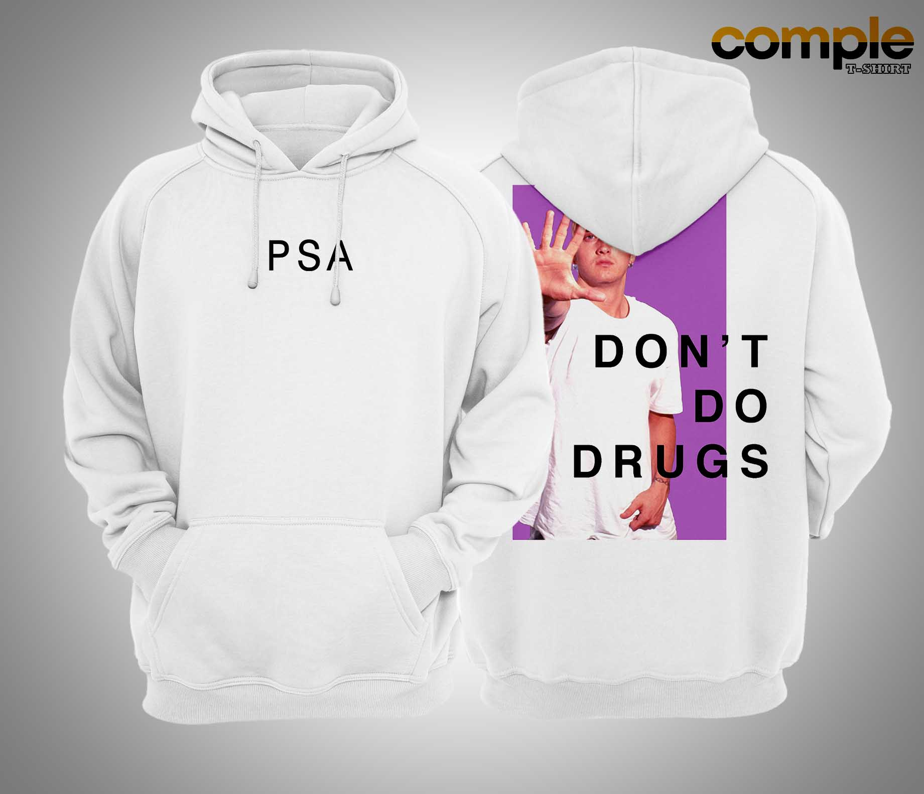 Psa Don't Do Drugs Hoodie