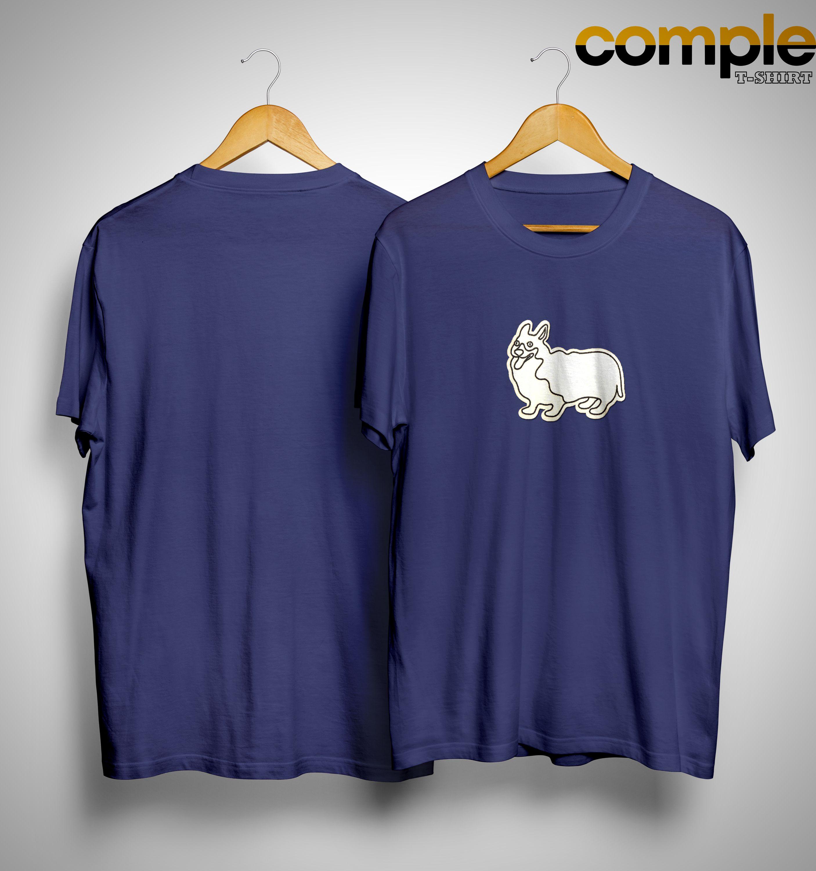 Phil Lester Corgi Patch Shirt