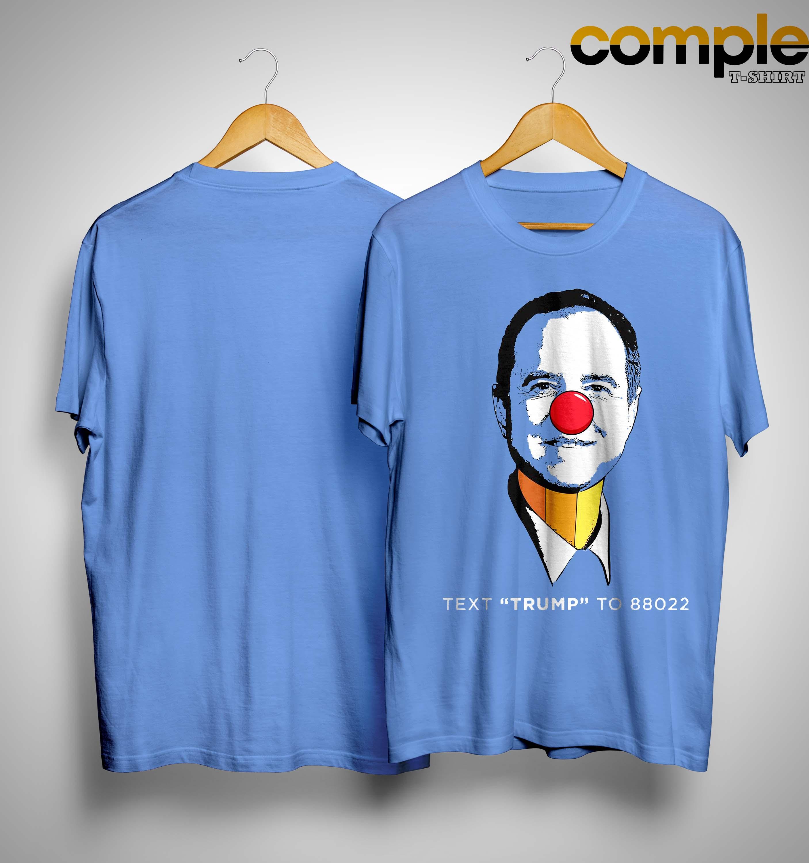 Trump Campaign Pencil Neck Adam Schiff Shirt