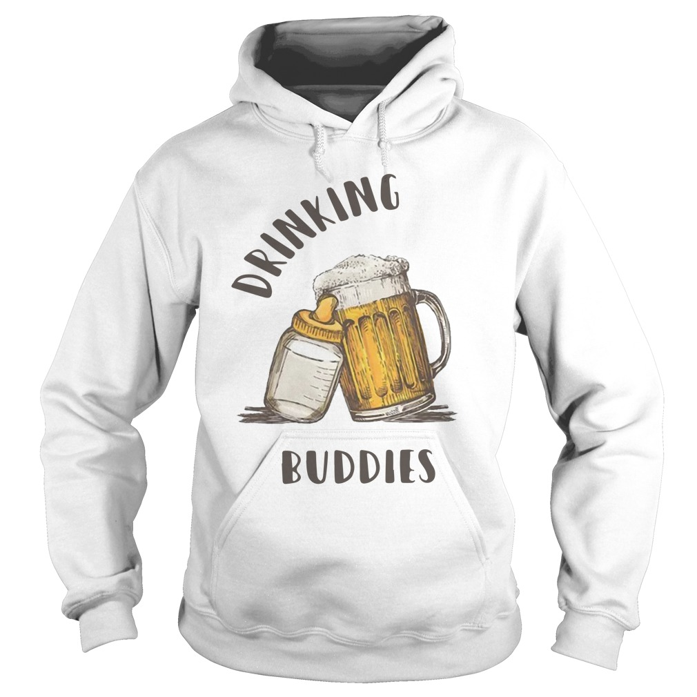 Beer Drinking Buddies Hoodie