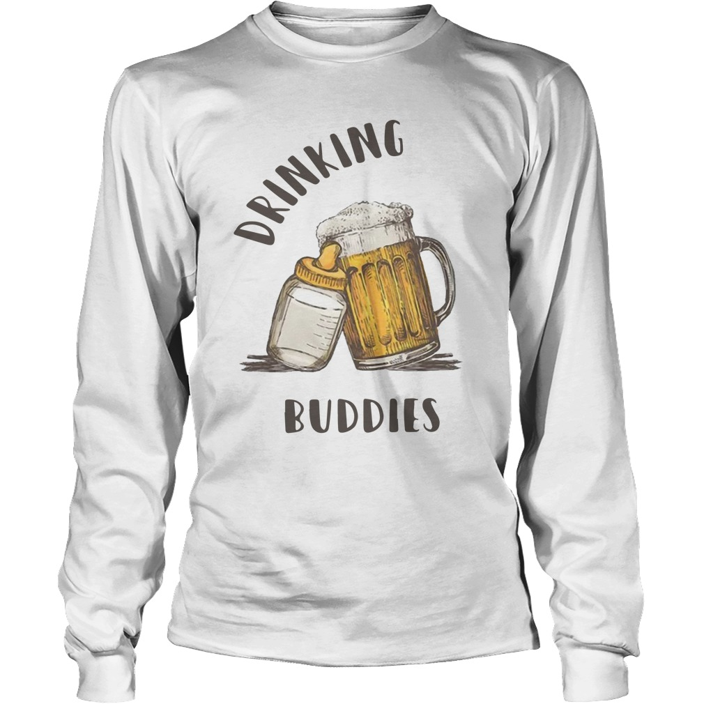 Beer Drinking Buddies Longsleeve Tee