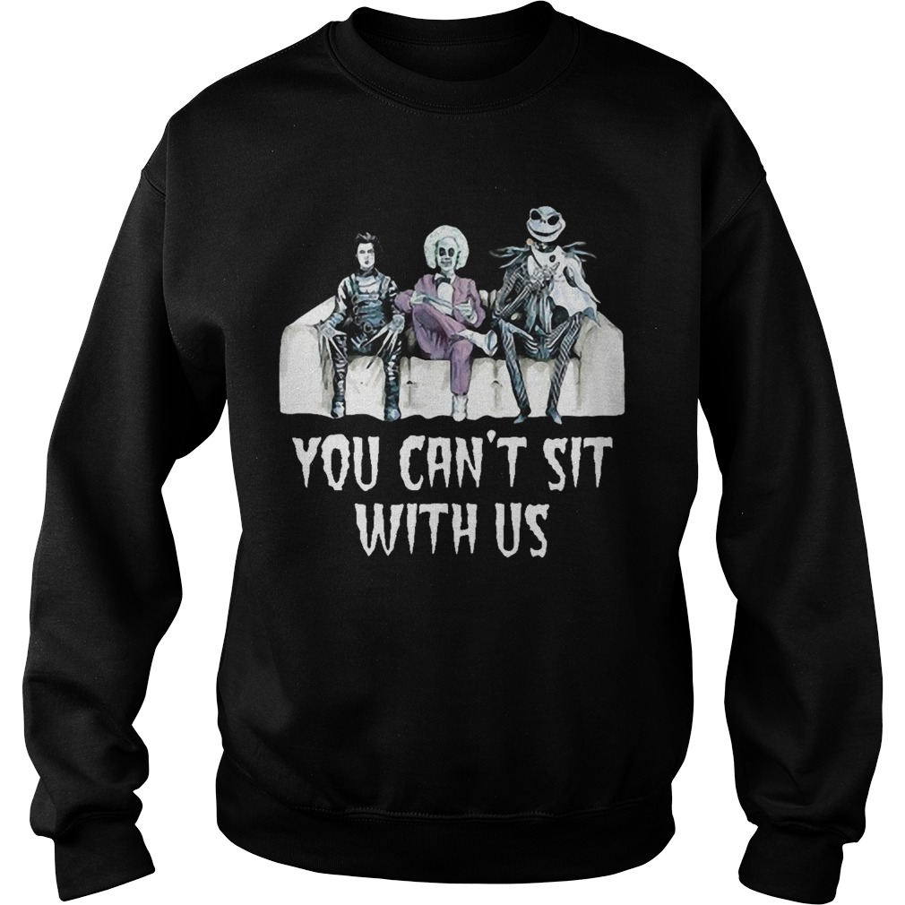 Harley Quinn You Can't Sit With Us Shirt