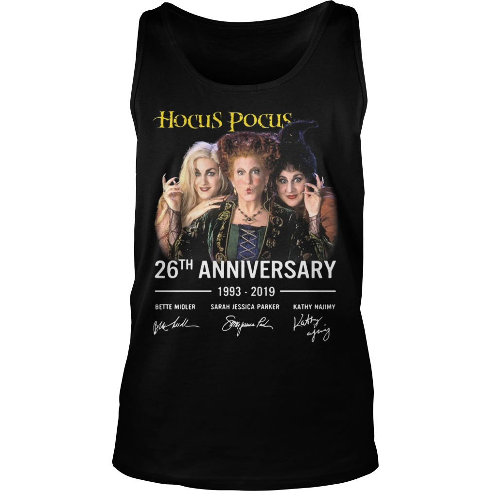 Hocus Pocus 26th Anniversary 1993 2019 Tank Top