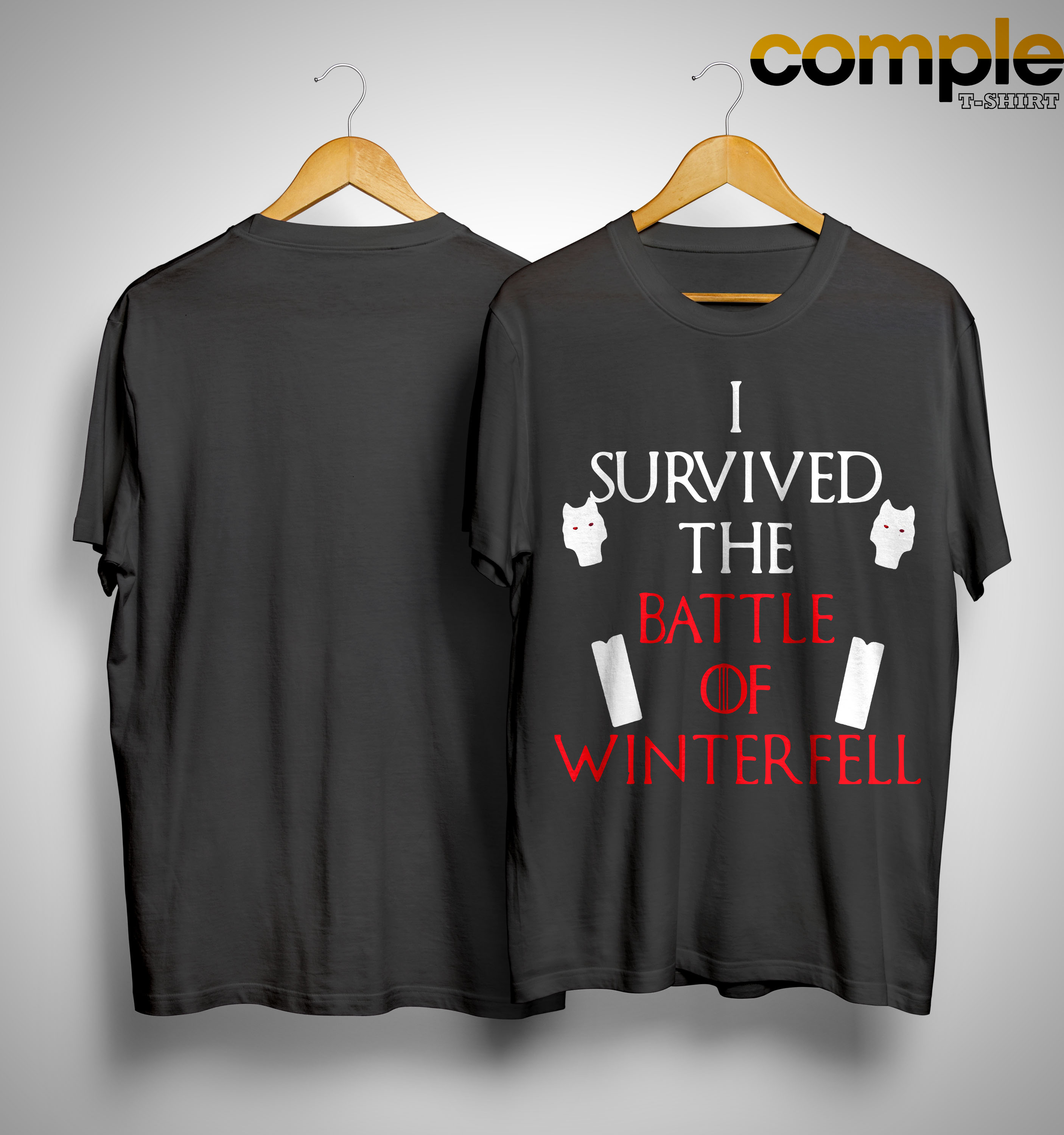 I Survived The Battle Of Winterfell Game Of Thrones Shirt