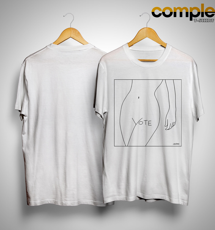 J Bjork Vote Shirt