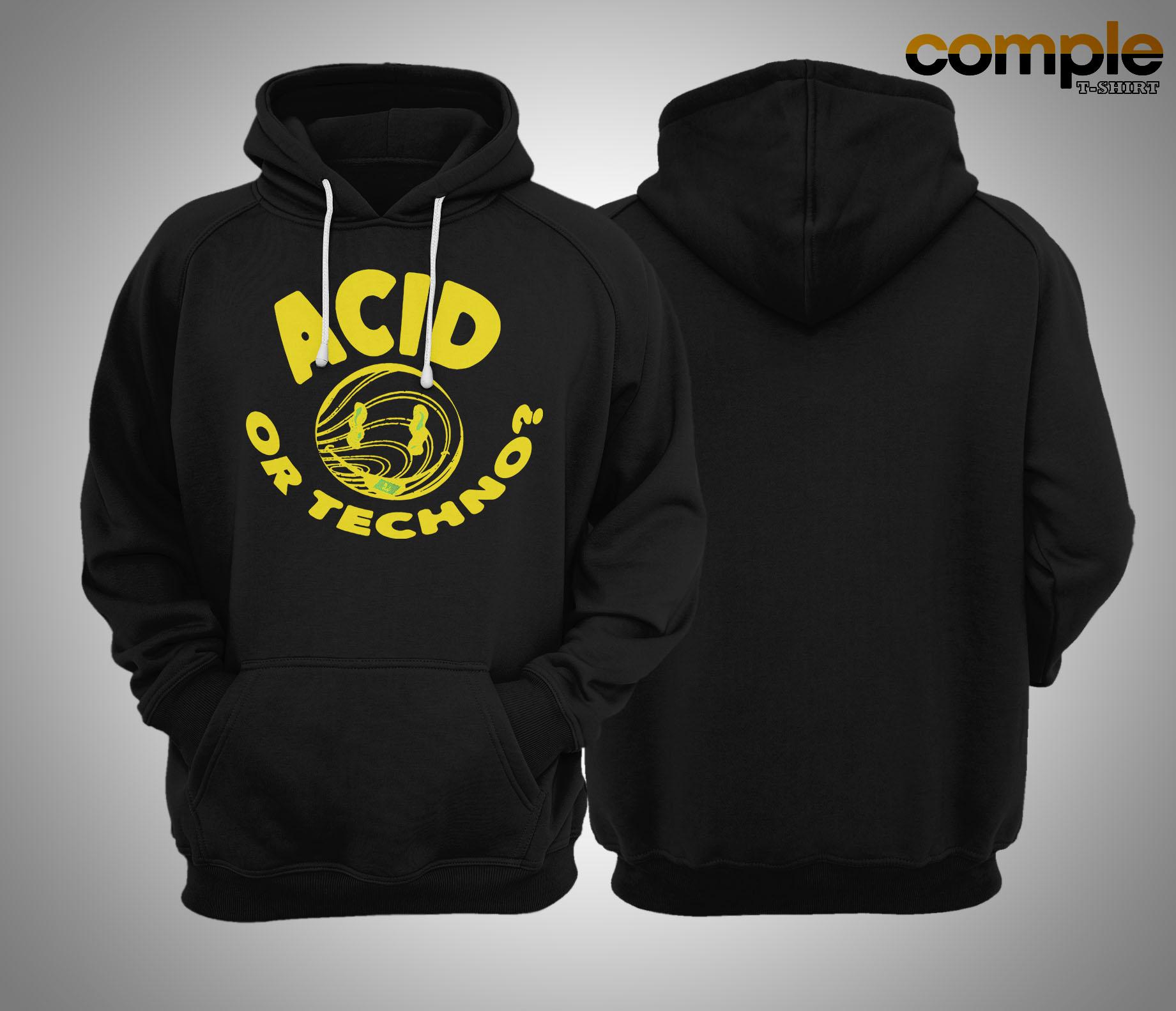 Jauz Acid Or Techno Hoodie