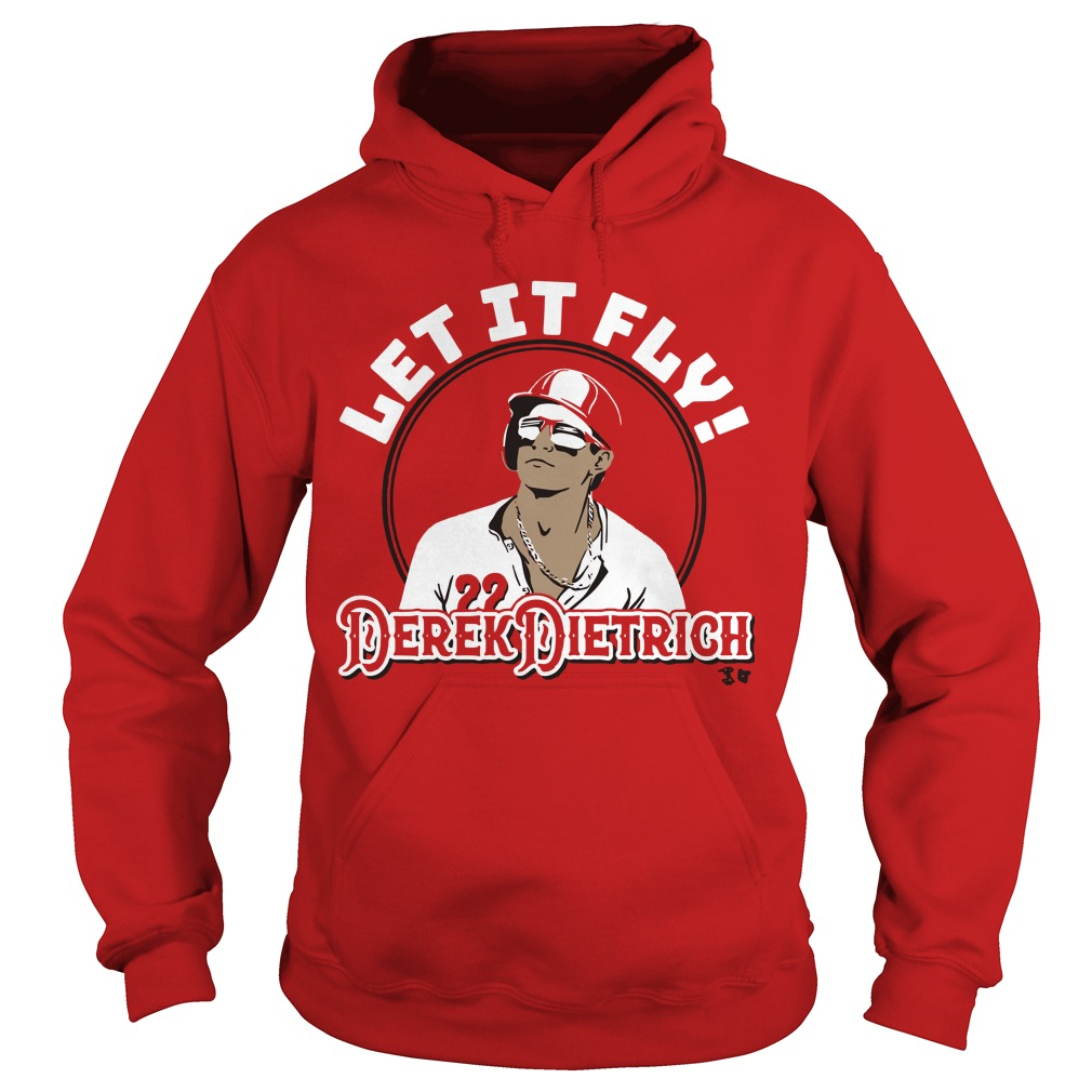 Let It Fly Derek Dietrich Hoodie