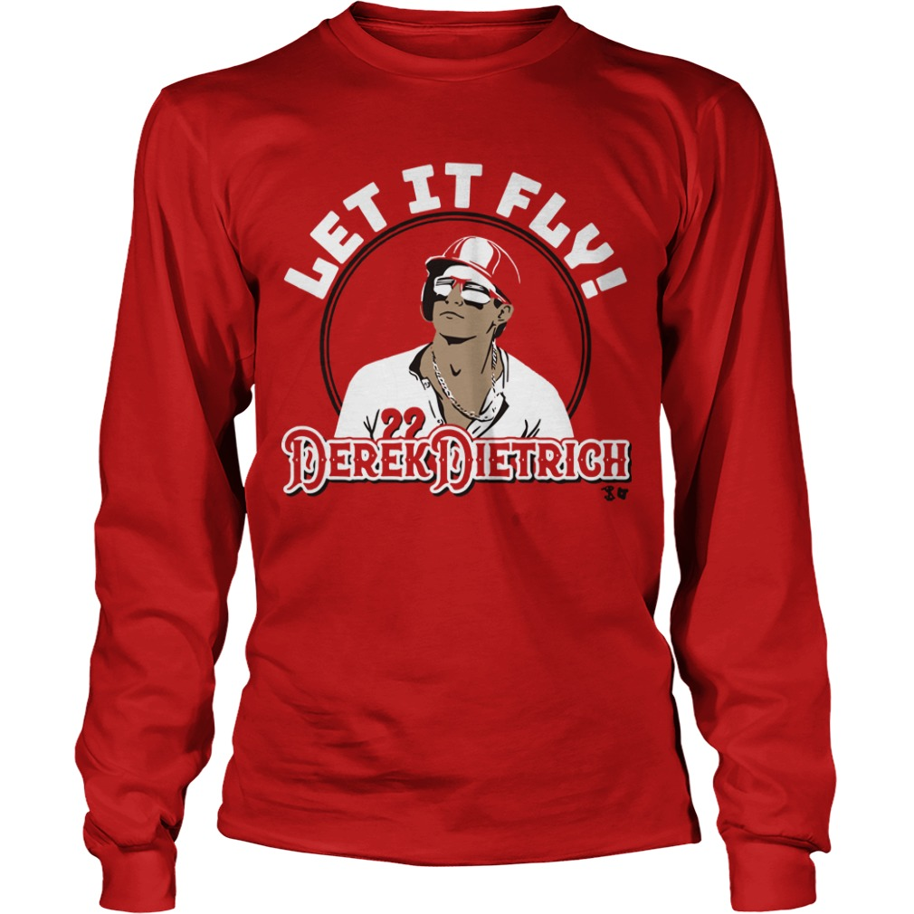 Let It Fly Derek Dietrich Longsleeve Tee