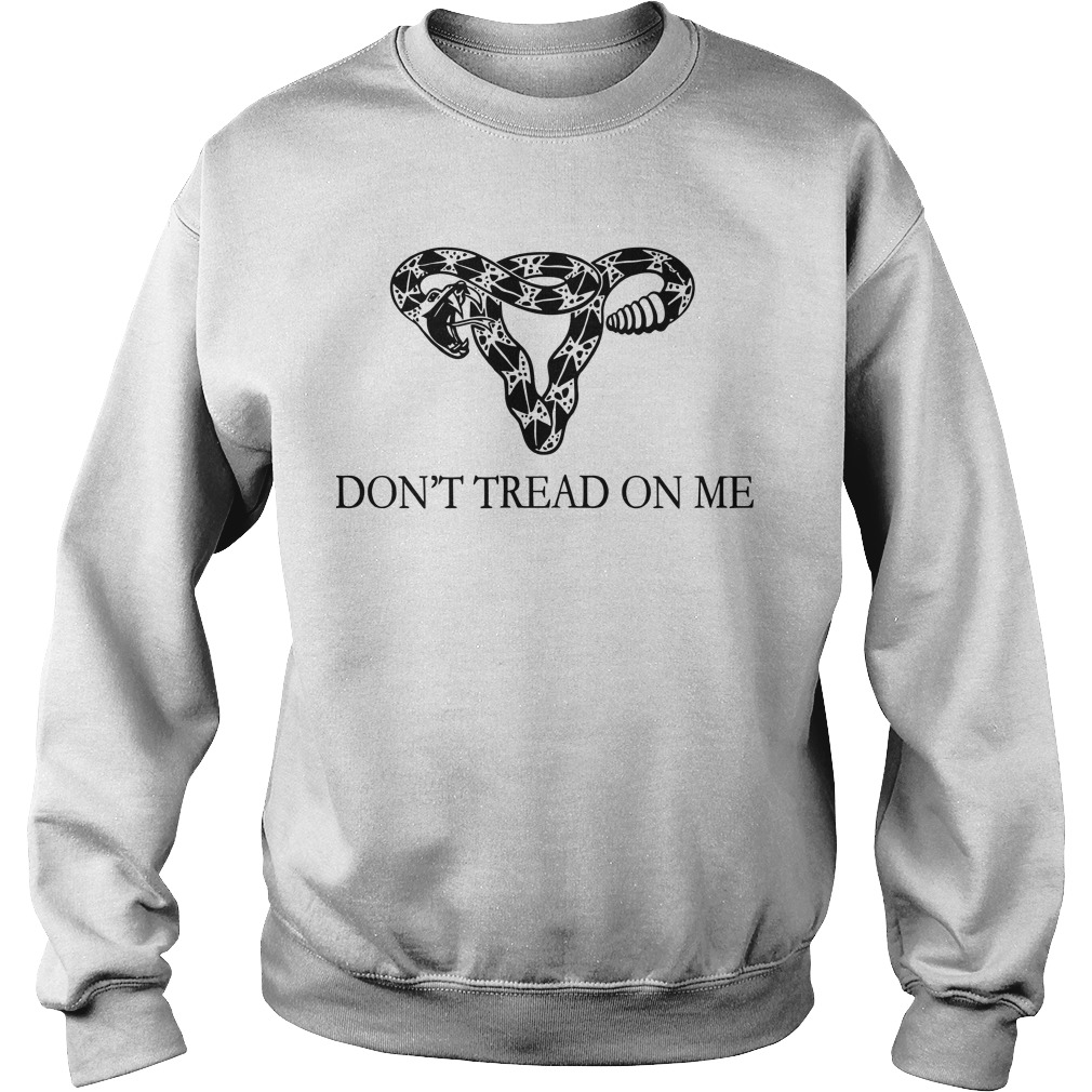 Rattlesnake Uterus Don't Tread On Me Sweater