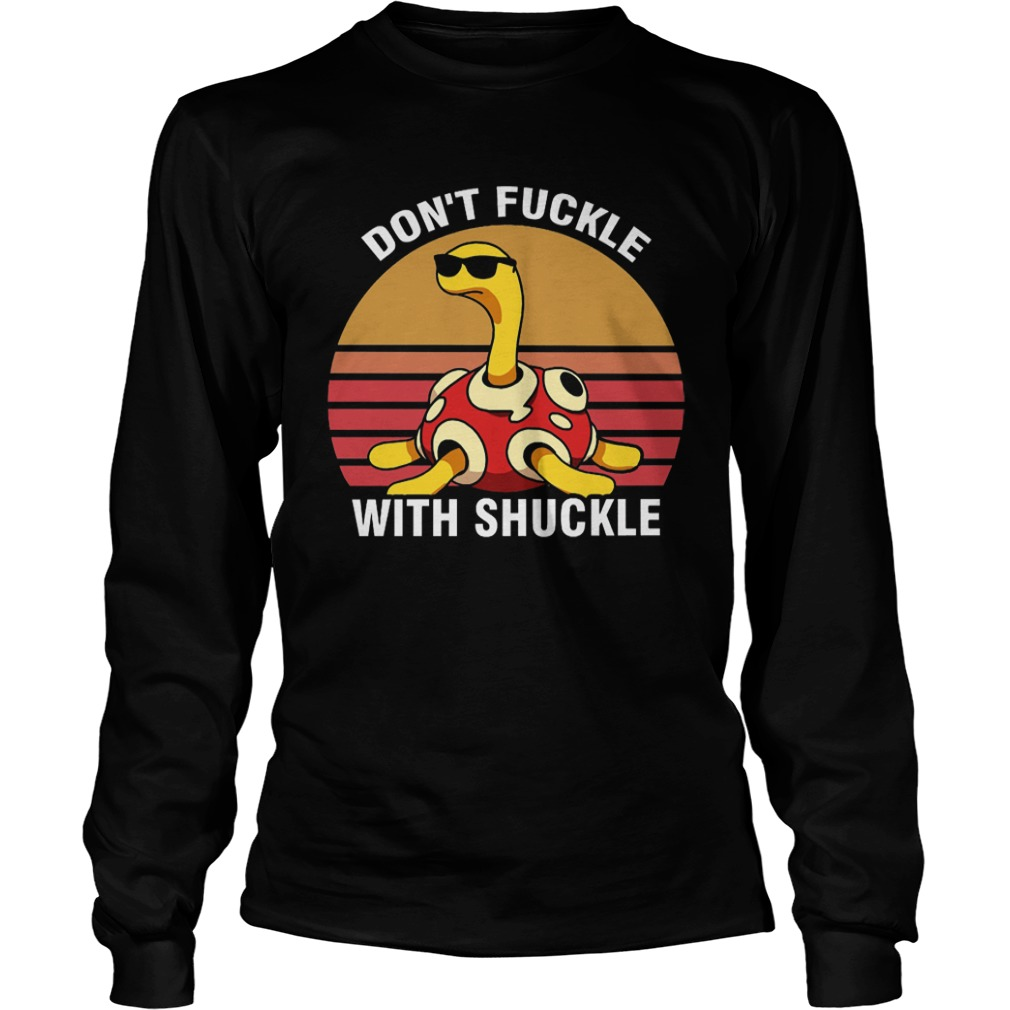 Sunset Vintage Tuttle Don't Fuckle With Shuckle Longsleeve Tee
