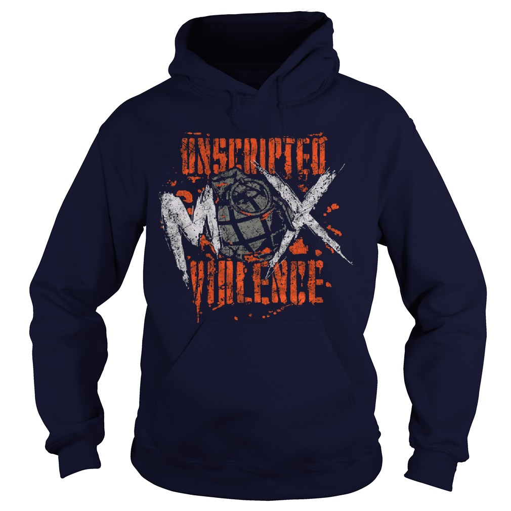 Unscripted Violence Jon Moxley Hoodie