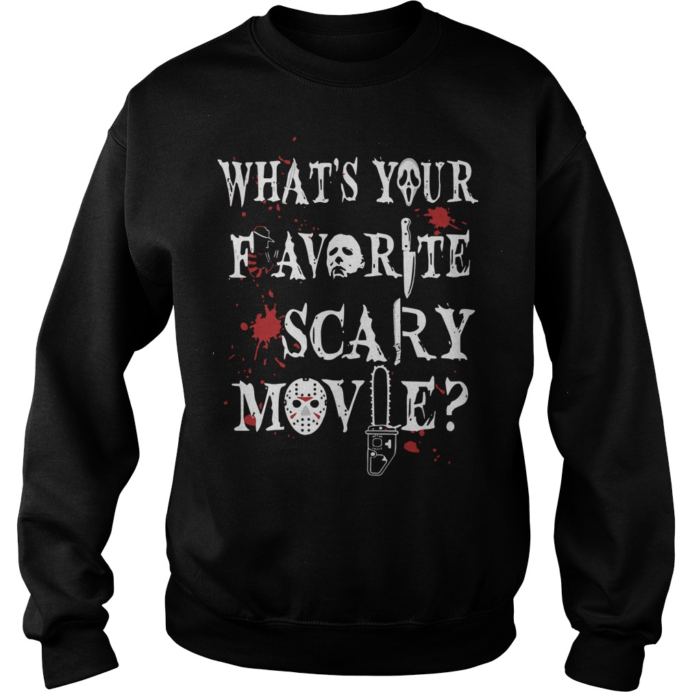 What's Your Favorite Scary Movie Sweater