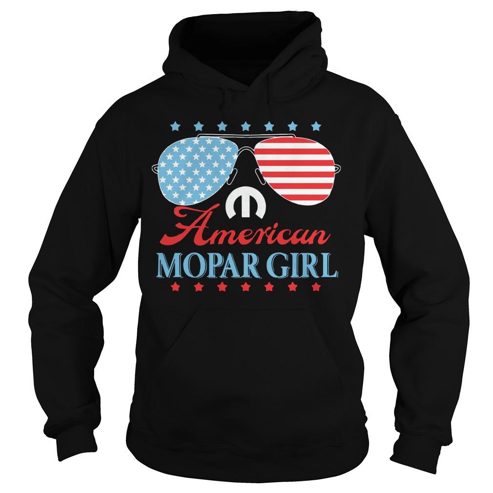 American Mopar Girl Hoodie