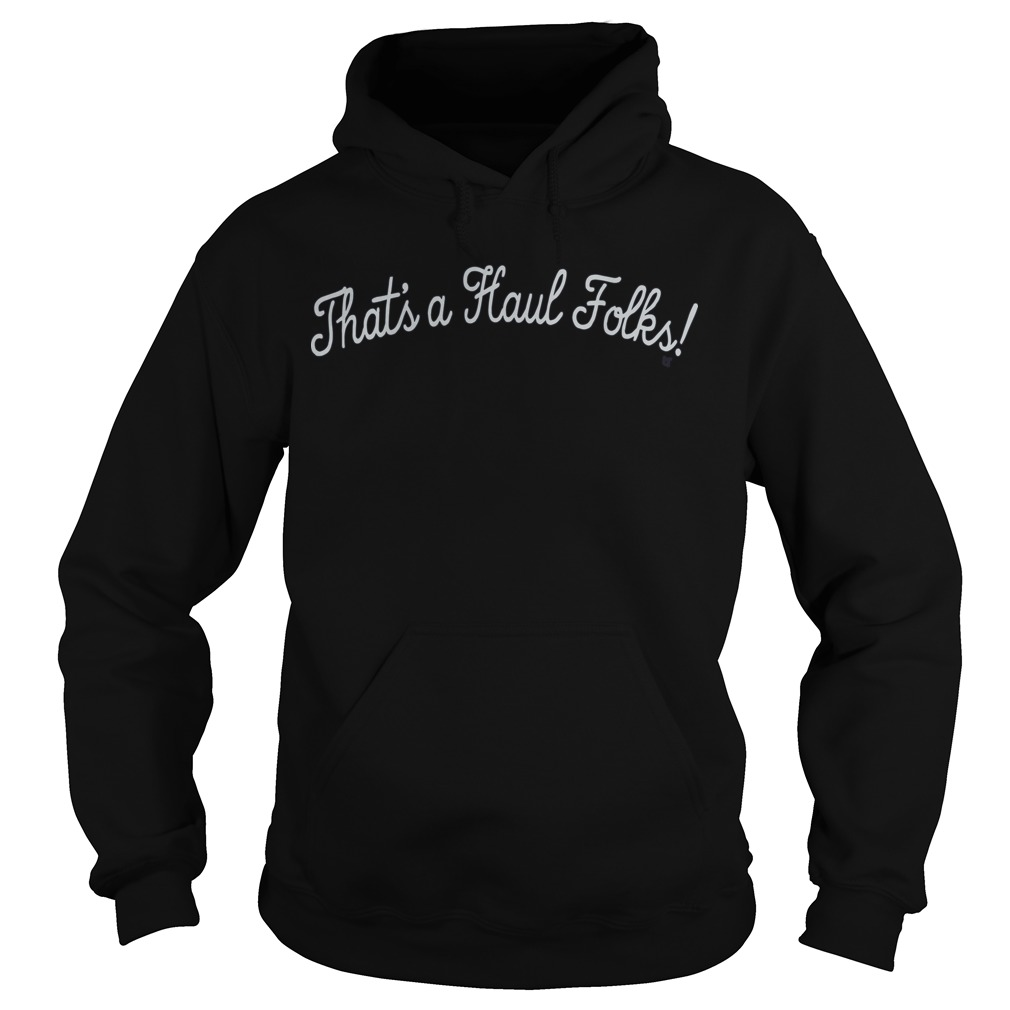Anthony Davis That's A Haul Folks Hoodie