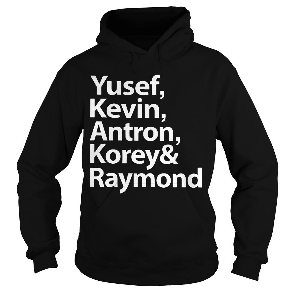 Ava Duvernay Yesef Kevin Antron Korey And Raymond Hoodie
